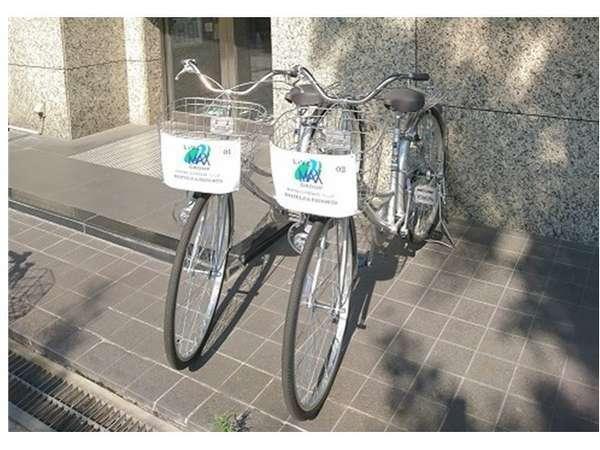 【レンタサイクル】1日¥500で貸出しできます(台数2台)