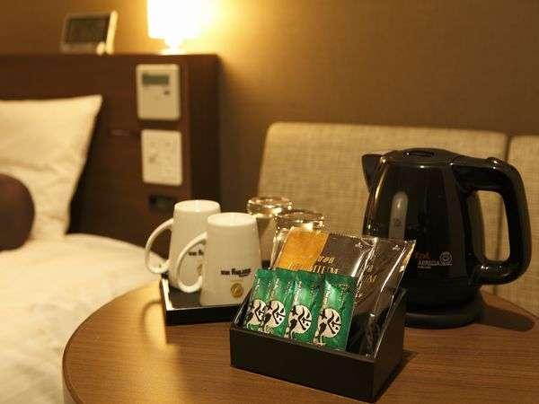 ■客室お茶セット