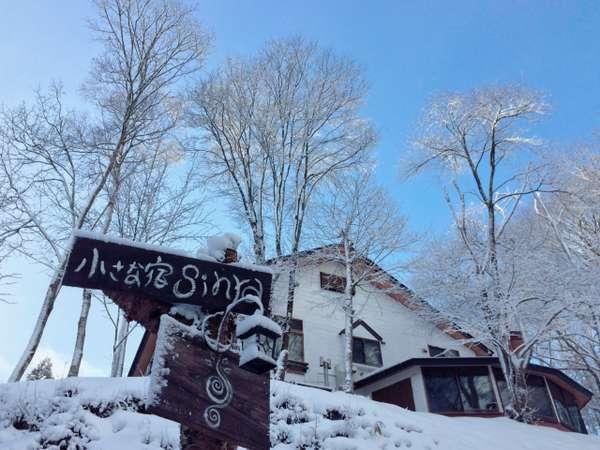 冬にしか出会えない景色、自然が織りなす風景が広がります。