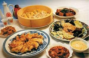 中華とビーフシチューが美味