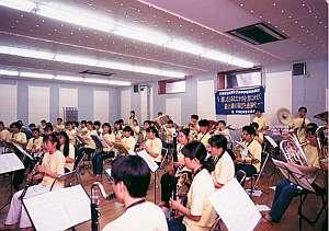 音楽室(大1室、小8室)館内に完備、合宿に最適