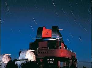 隣の日原天文台は日本最初の公開型天文台です。