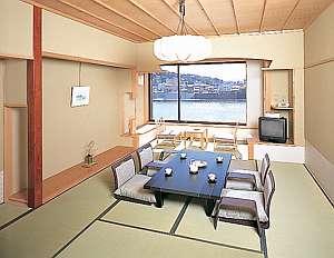 川側10畳の客室