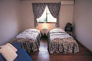 客室例。ツインルーム