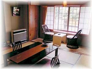 お部屋の一例、ゆったりと落着ける和室