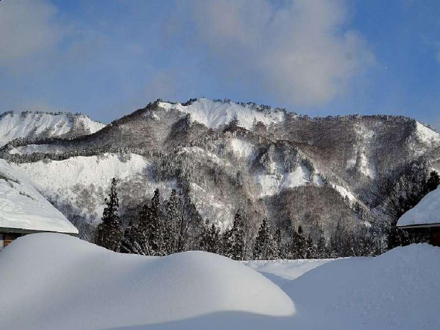 2月冬景色