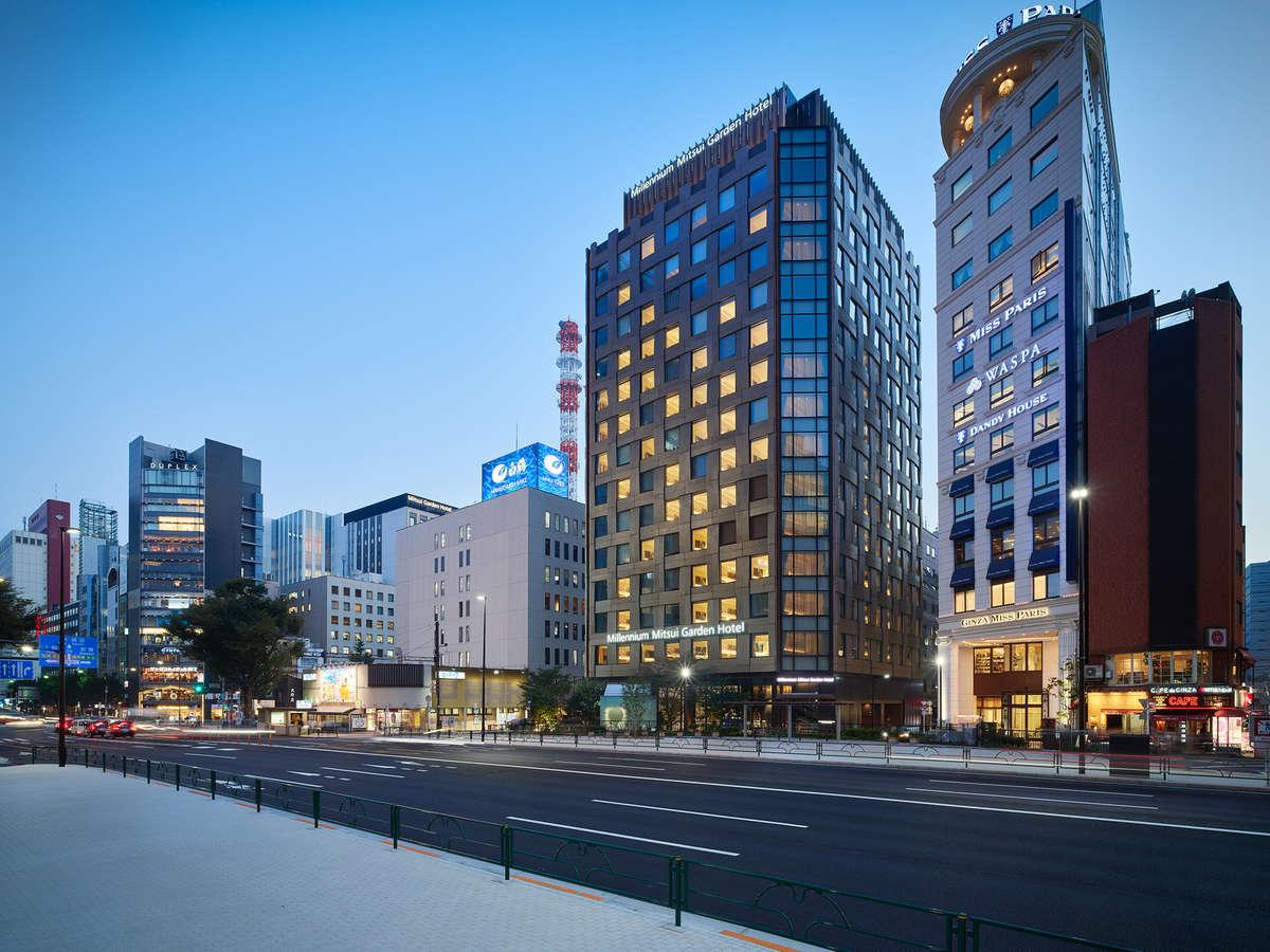 <外観>ミレニアム 三井ガーデンホテル 東京