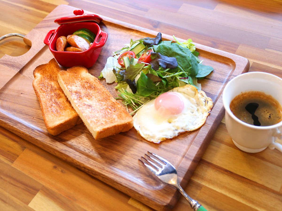■選べる朝食『洋』■サクッとトーストで女性に人気♪