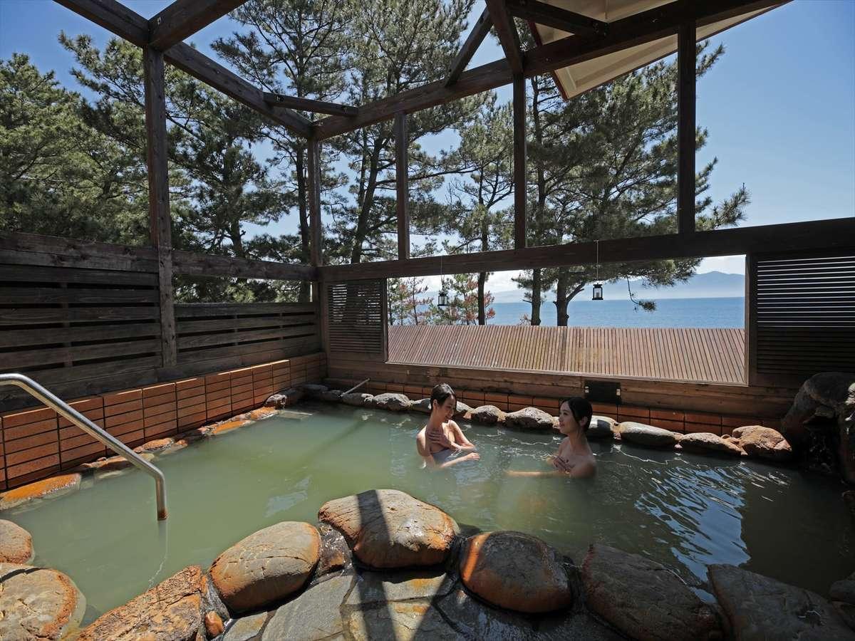 知林の湯「露天風呂」