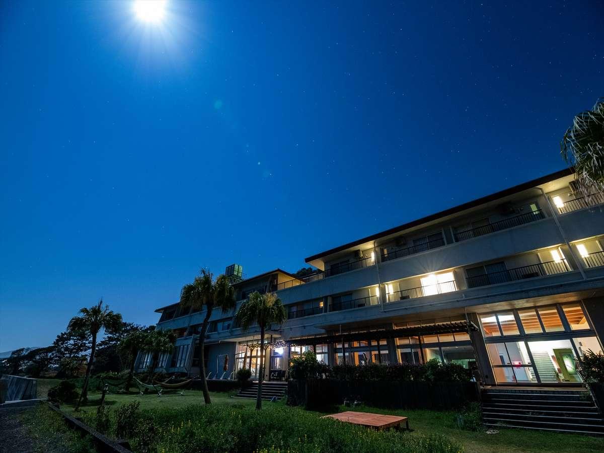 月夜と星空を愉しむ
