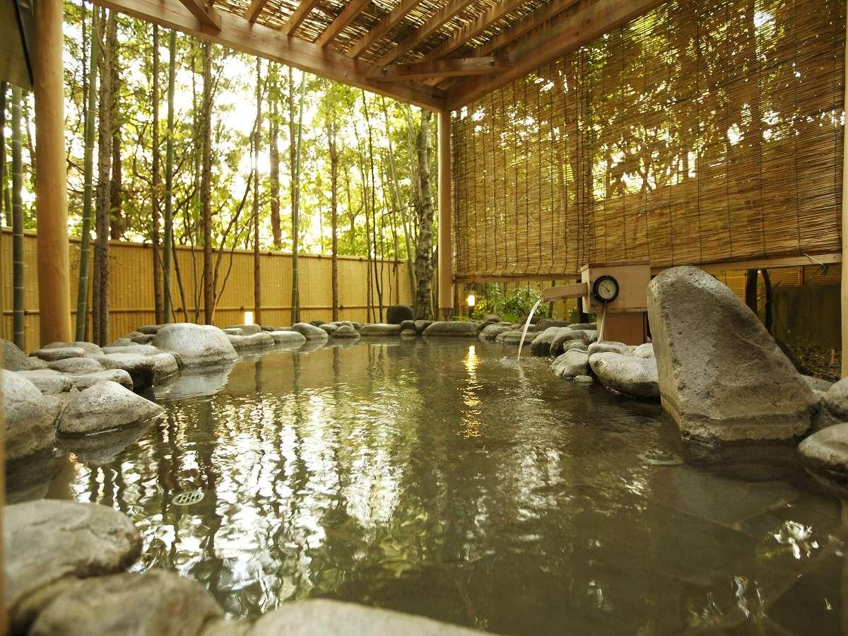 箱根小涌谷温泉水の音 露天風呂