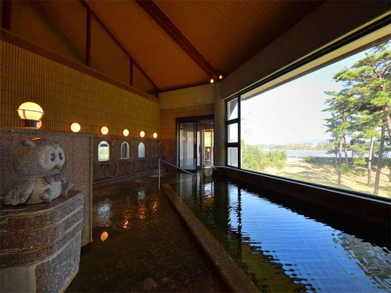 ☆天然温泉(加温)の大浴場