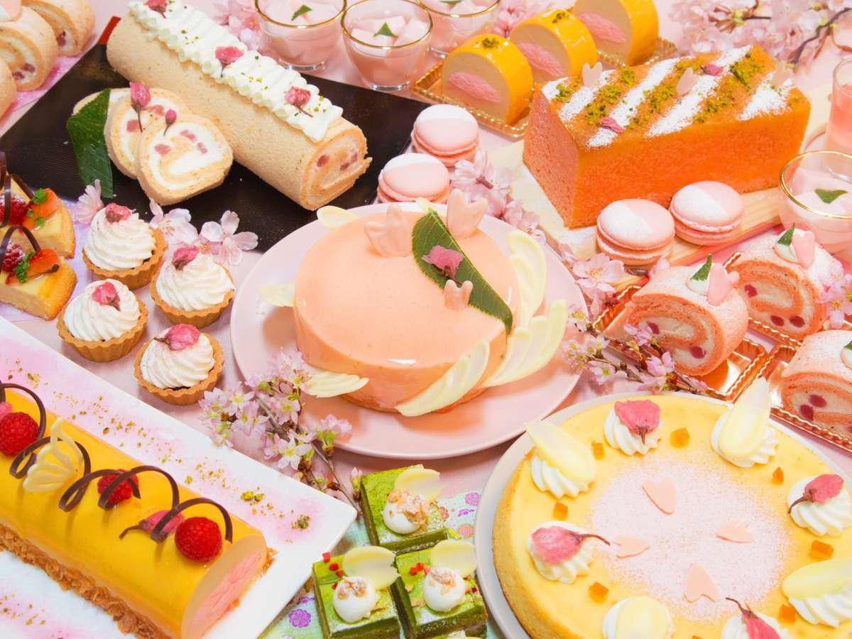 桜香るセミビュッフェランチと桜&ベリースイーツフェア/イメージ(1F「セレース」)