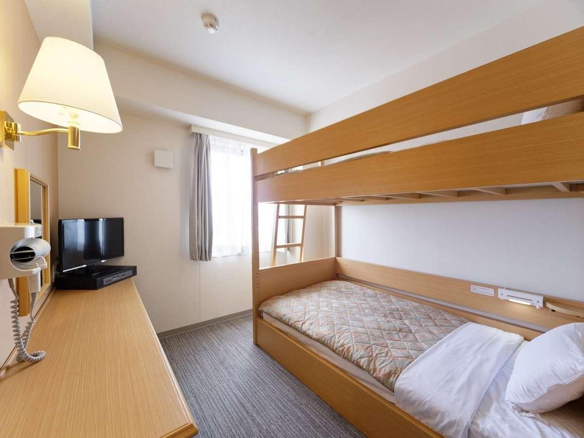 2段ベッドルーム:スポーツ団体様やお子様に人気☆