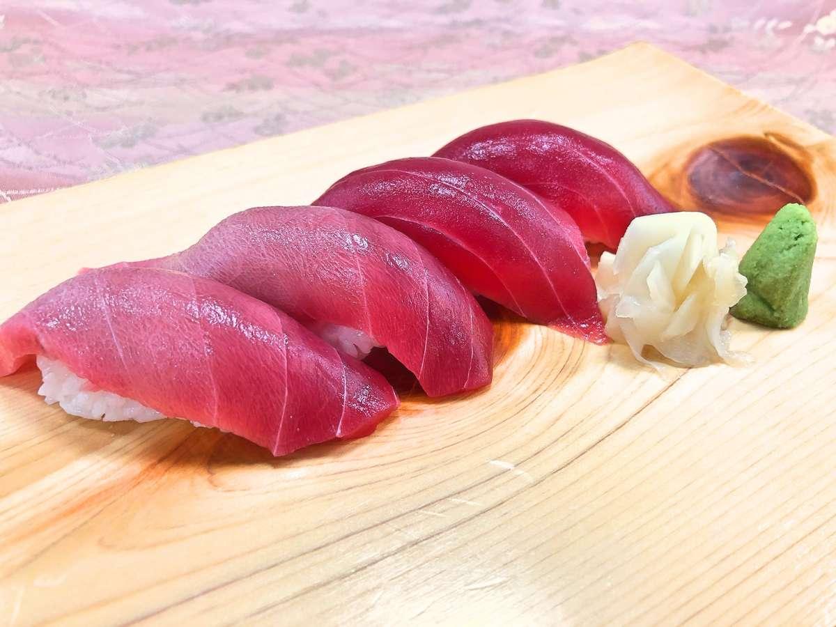 旨み抜群のまぐろ寿司