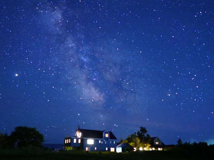 満天の星空 星空自慢の宿 清里イーハトーヴ