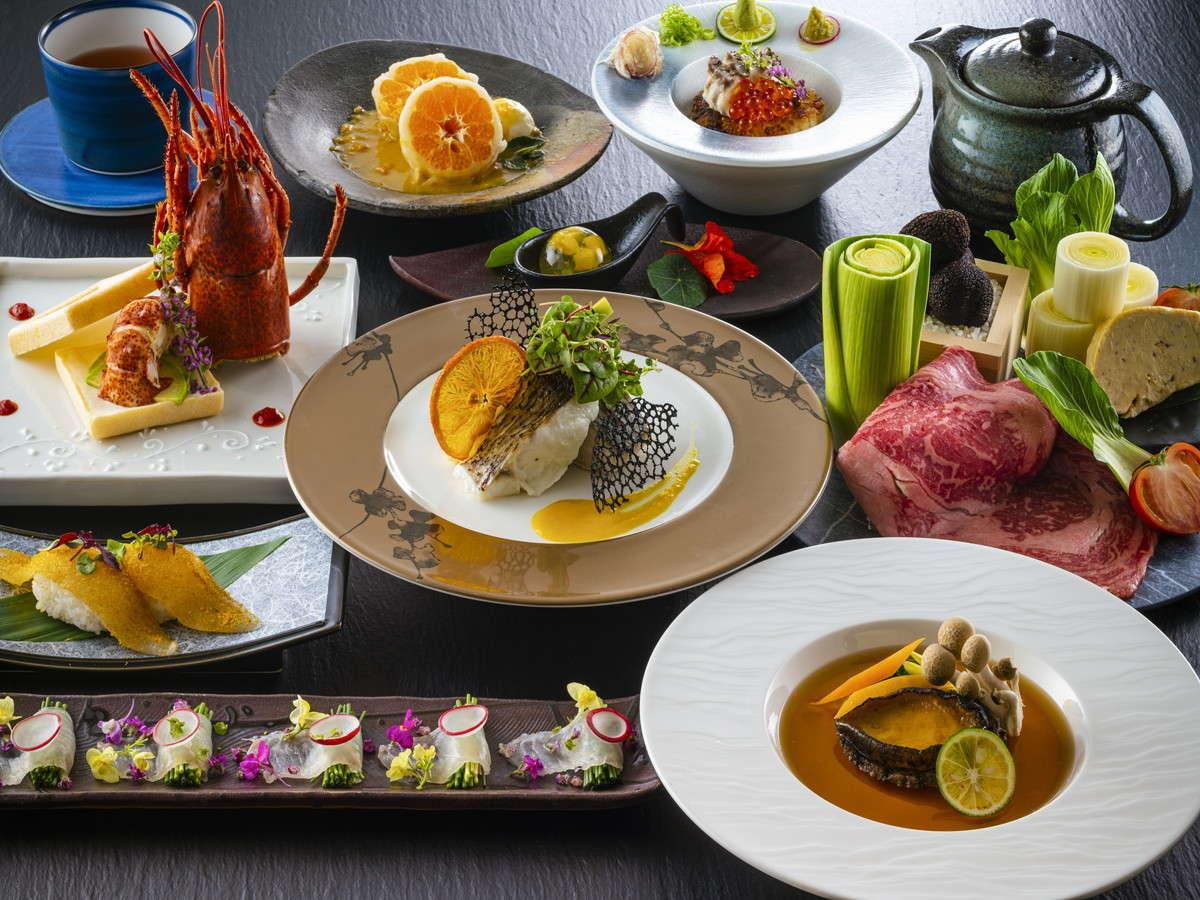 2021年10月 CHAHARUから始まる新しい料理 【厳選コース】~鯛×オマール海老×鮑~