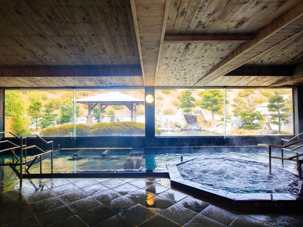五感の宿 慶泉 大浴場