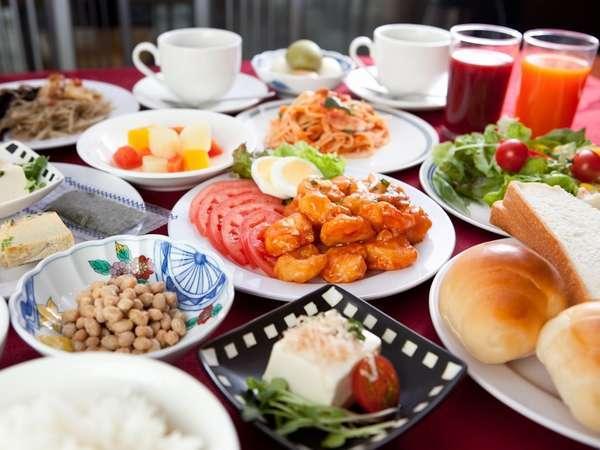 朝食バイキング【セットイメージ】