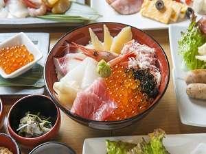 ■朝食:お好み漁師丼