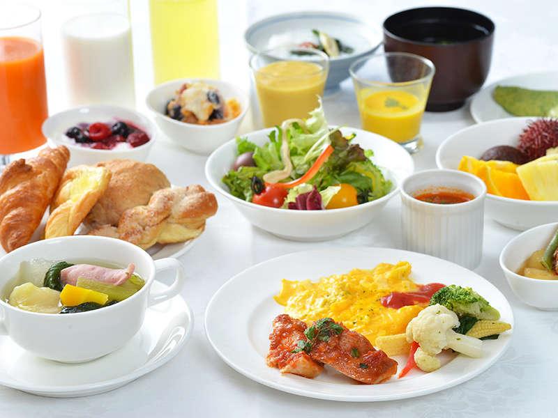 【朝食】和洋流バイキング