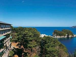 太平洋の水平線を見渡す絶景(一例)