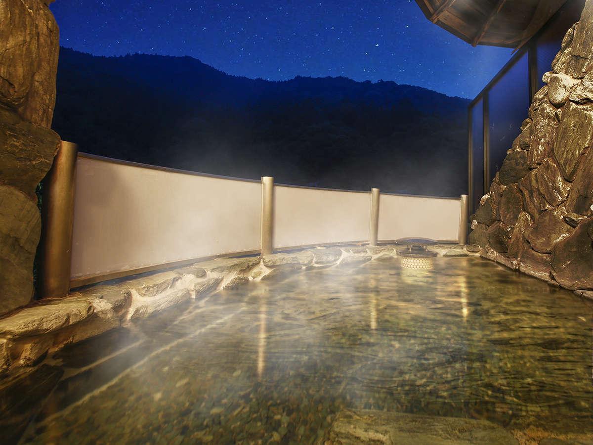 """清水温泉(ph9)の""""美人の湯""""にどっぷり。朝夕と景色を変える湯の贅をお楽しみ下さい♪"""