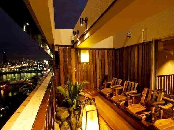 Dormy Inn Express Asakusa Asahi-Yu baths with a view