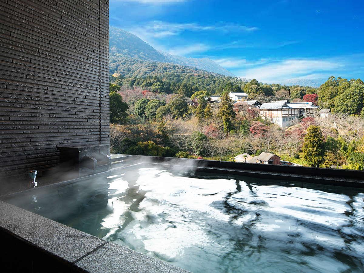 令和2年NEW OPEN!【-別邸初音プレミアム-露天風呂付】「天然温泉」と琴平の景色を一度に堪能するひと時を