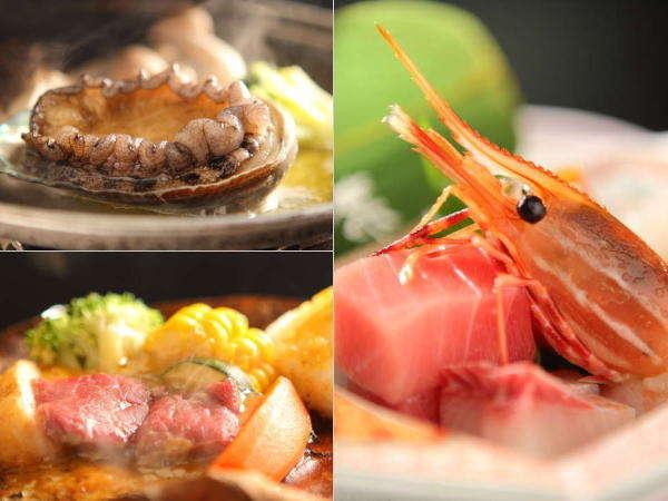 新潟の山海の食材をふんだんに使用した会席をご用意いたします。