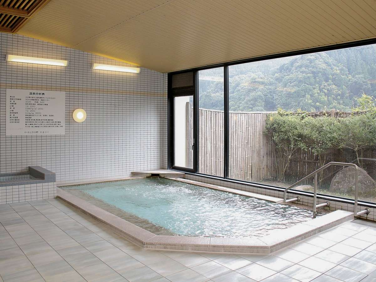 【大浴場(女湯)】弱アルカリ性の優しいお湯で日々の疲れを癒してください。