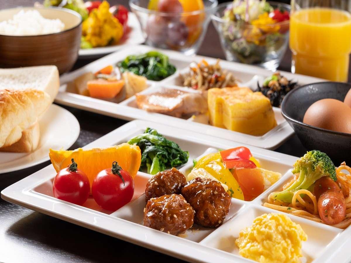AM7:00~9:30/1階レストラン【朝食例】