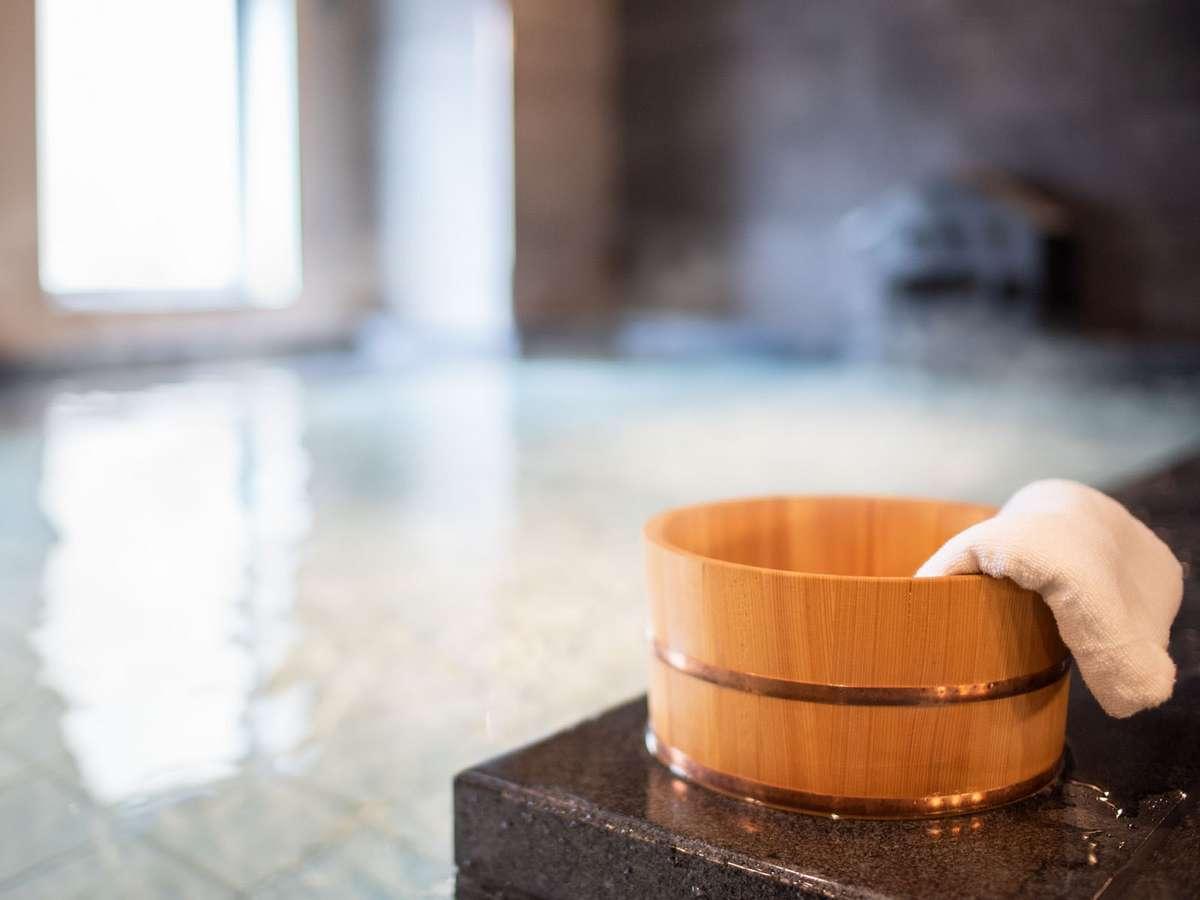 疲労回復に効果的な男女別人工炭酸泉大浴場を新設致しました!