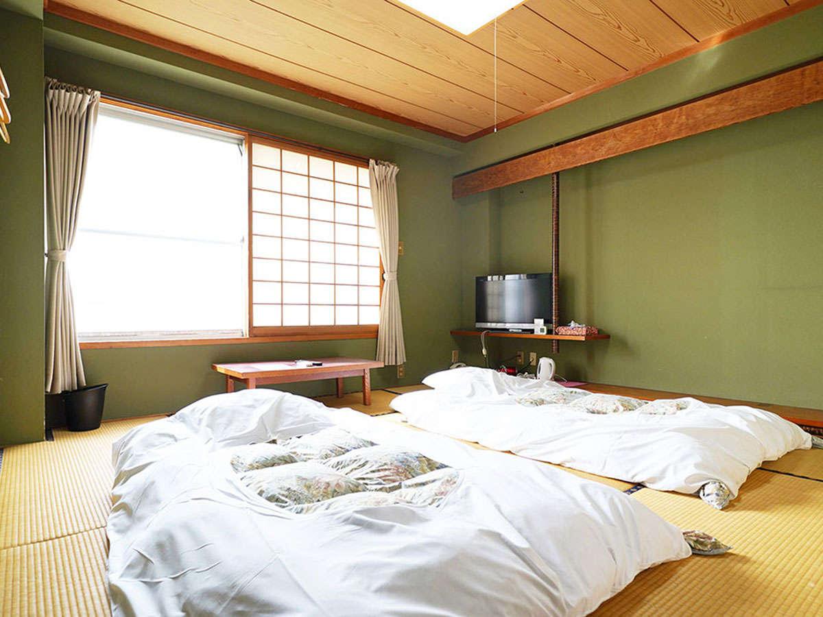 8畳和室ツイン部屋です