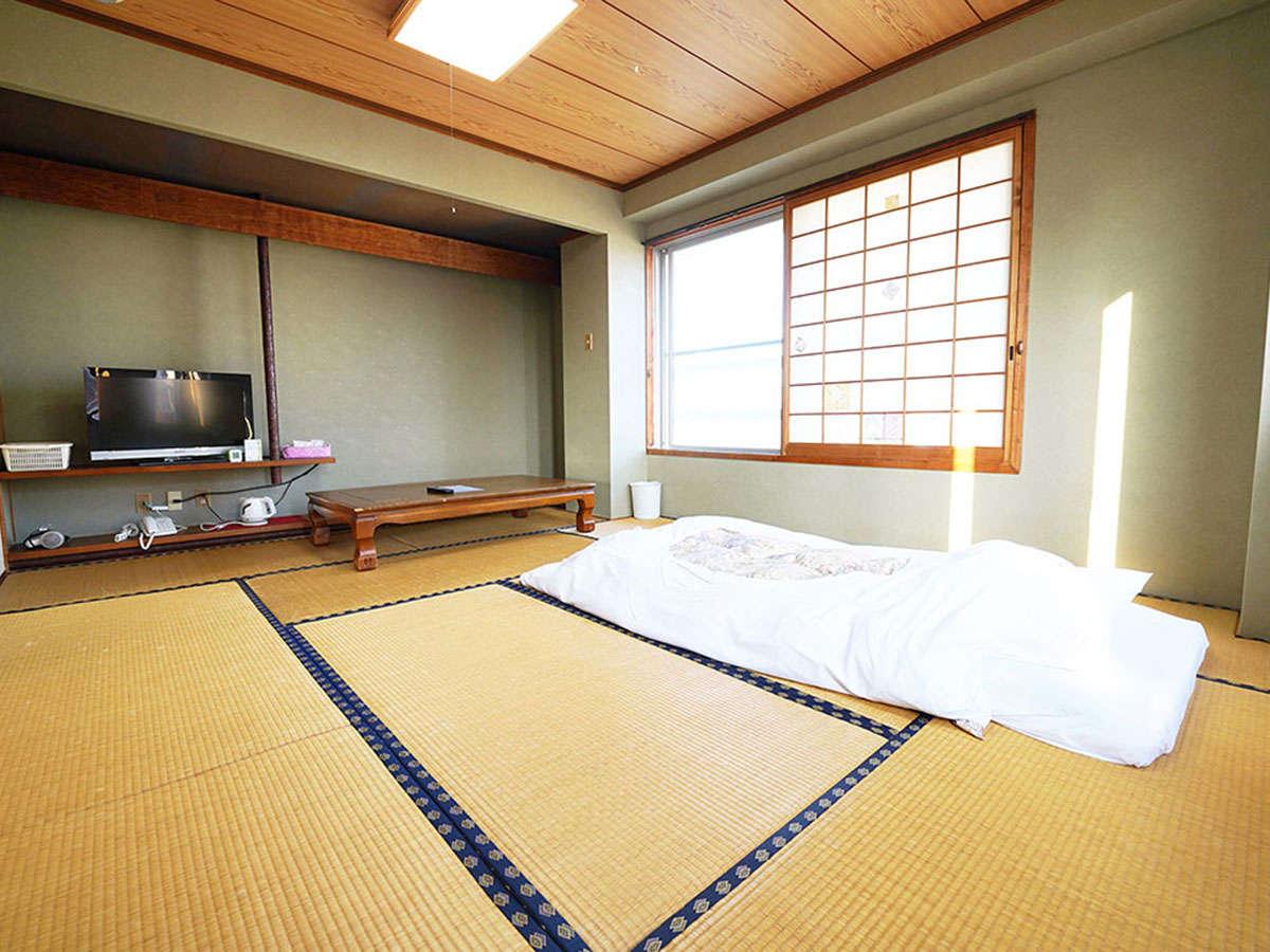 10畳和室部屋です。