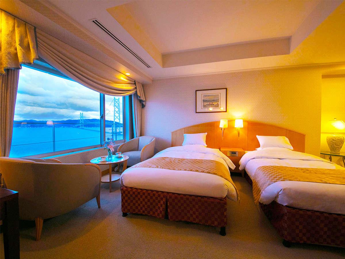 ★オススメは海側客室★ふかふかのベッドで寝ながらでも景色を楽しめる手軽なリゾートステイ♪