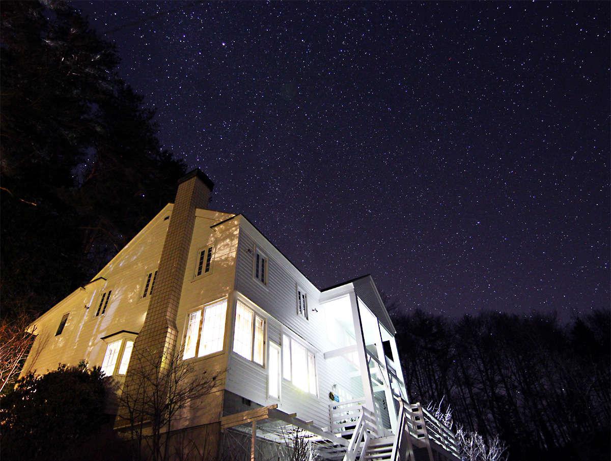 満天の星を眺める事が出来る八ヶ岳清里高原