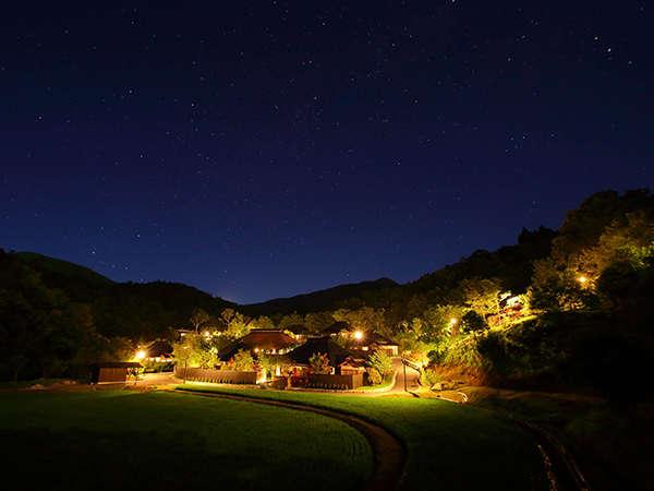 夏の夜空天然のプラネタリウム