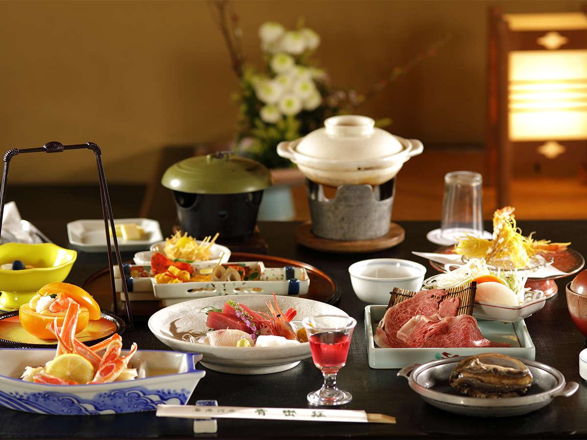 季節の会席料理 一例