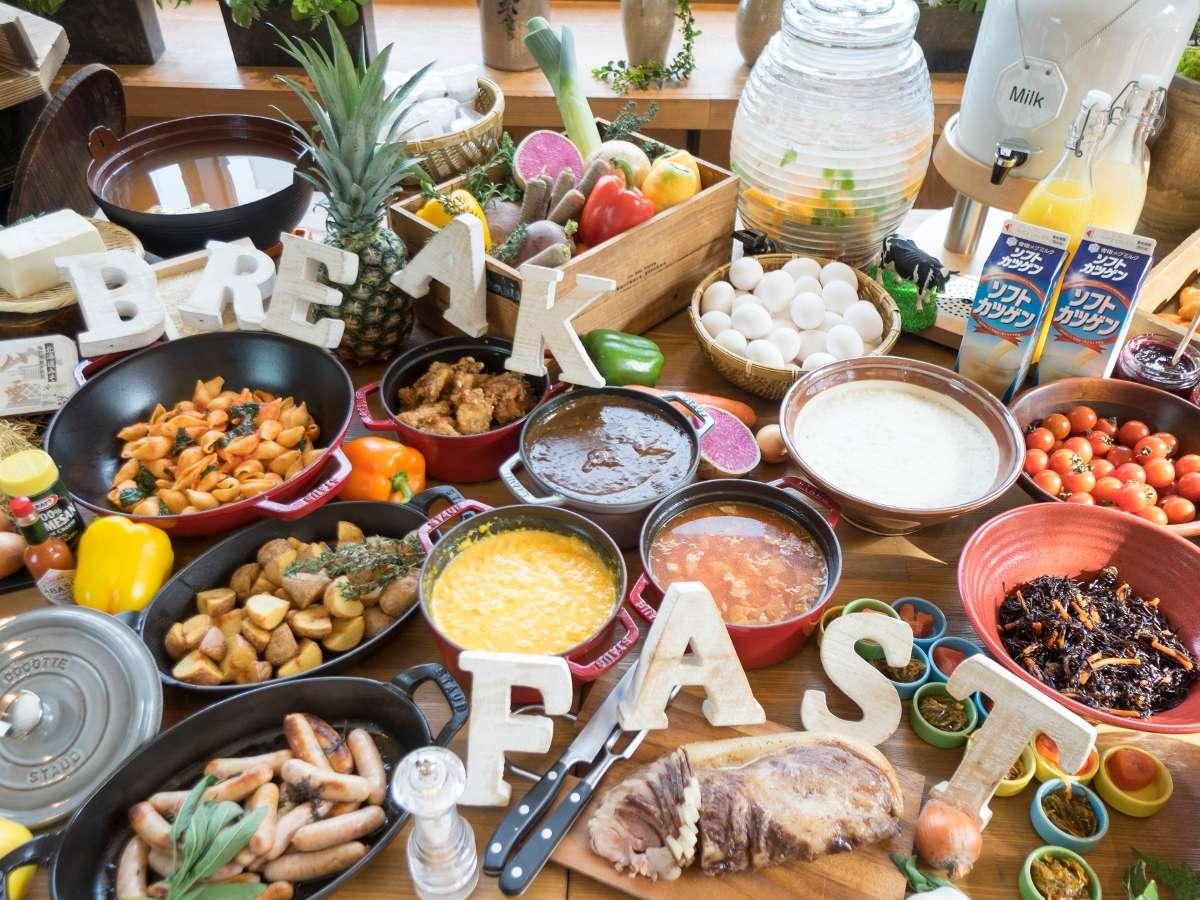■じゃらんnetクチコミ4.2(2020年11月)■ 60種以上の朝食ビュッフェ