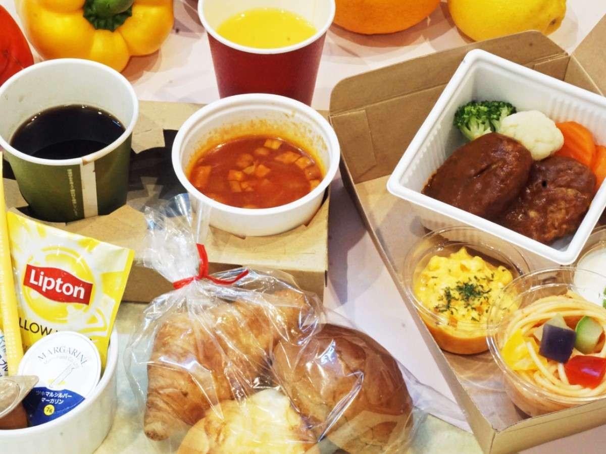 朝食BOX一例