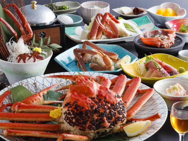 【越前蟹フルコース】