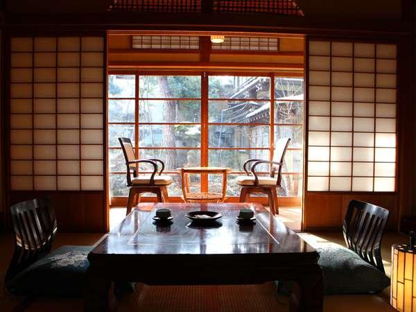 スタンダートな客室の一例