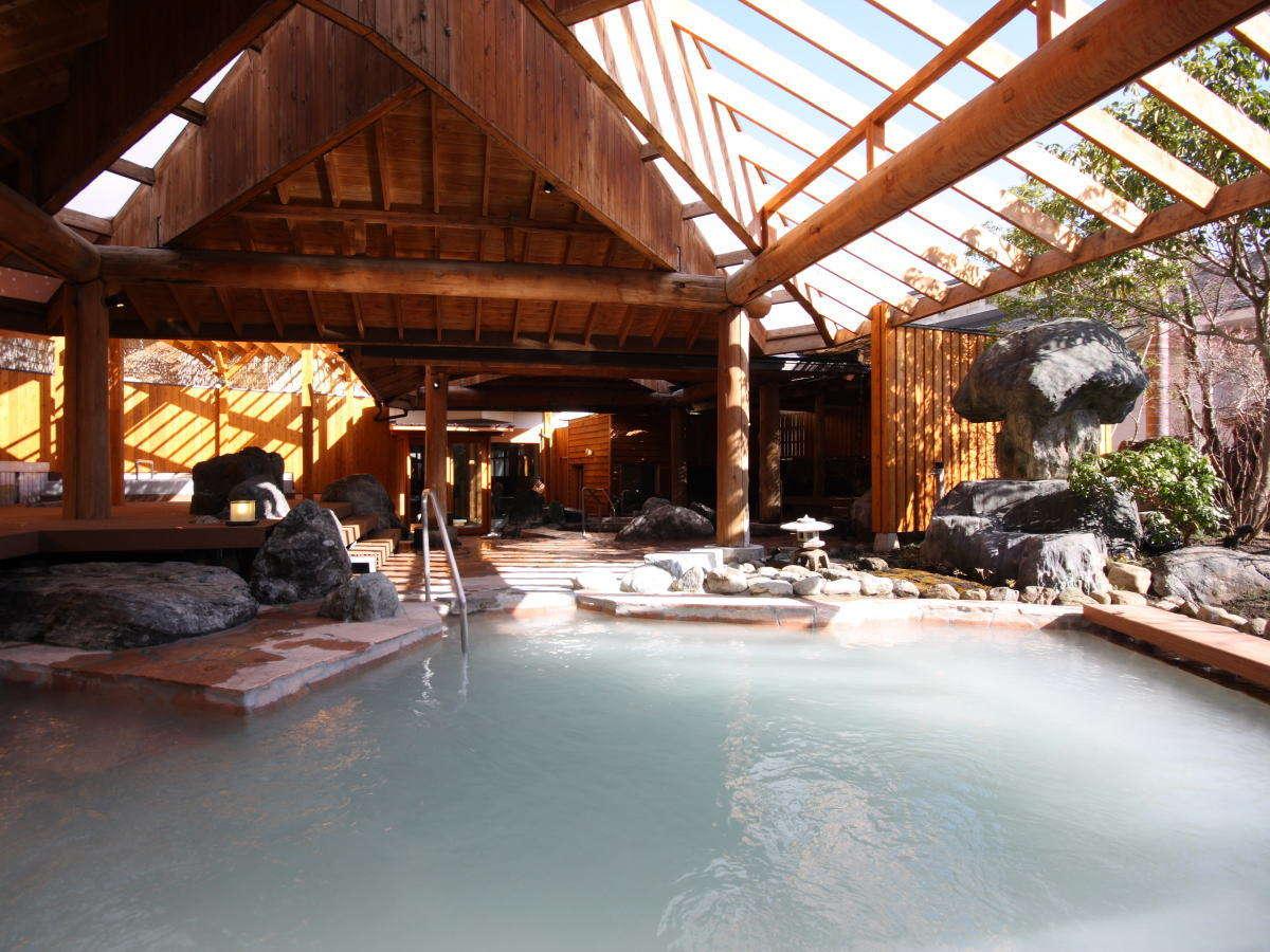 那須温泉 ホテルサンバレー那須 宿泊 その3 お風呂編