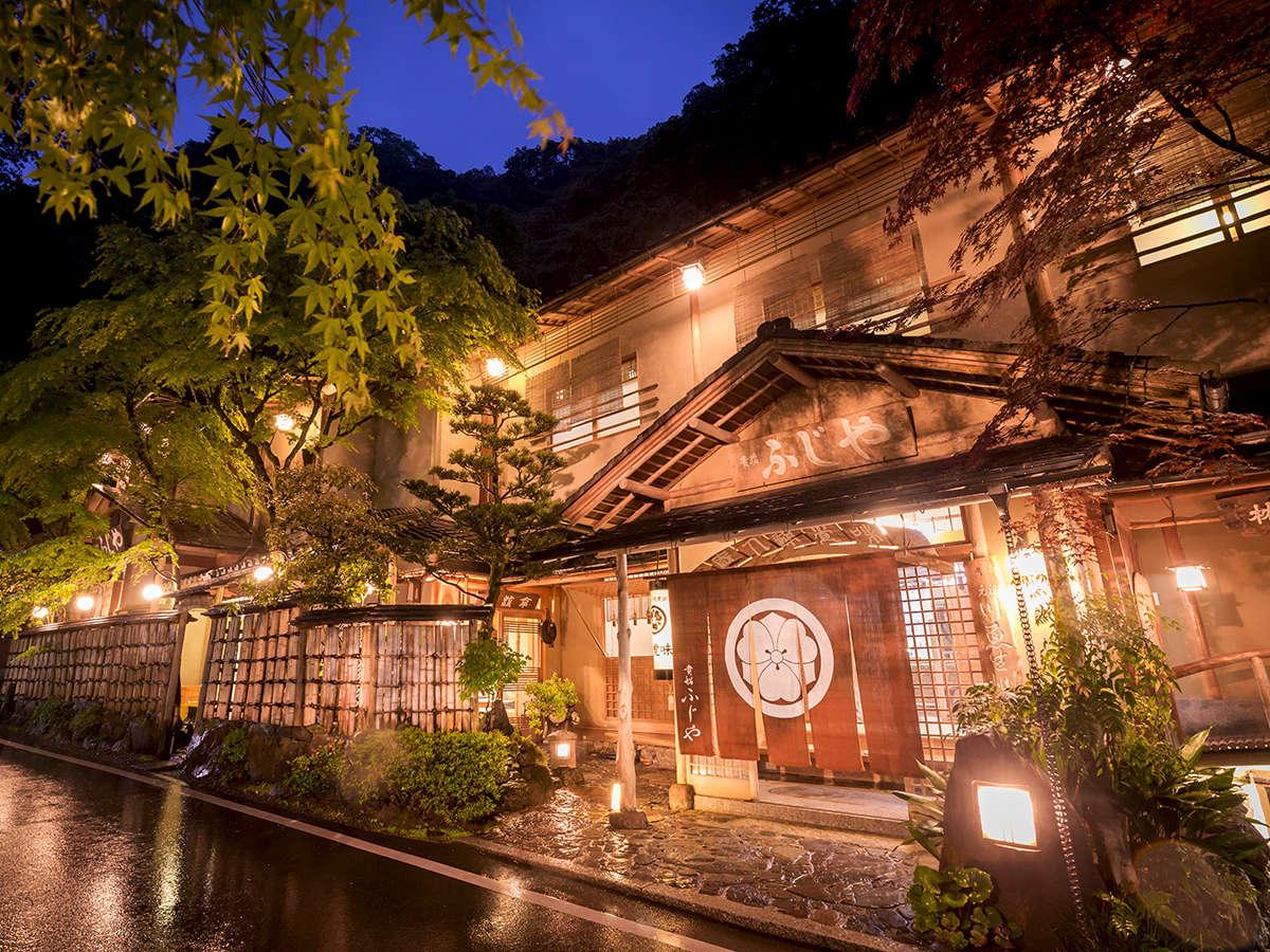 ◆貴船ふじや◆貴船神社のすぐ隣。貴船の観光に便利な立地で、最高の思い出が作れます。