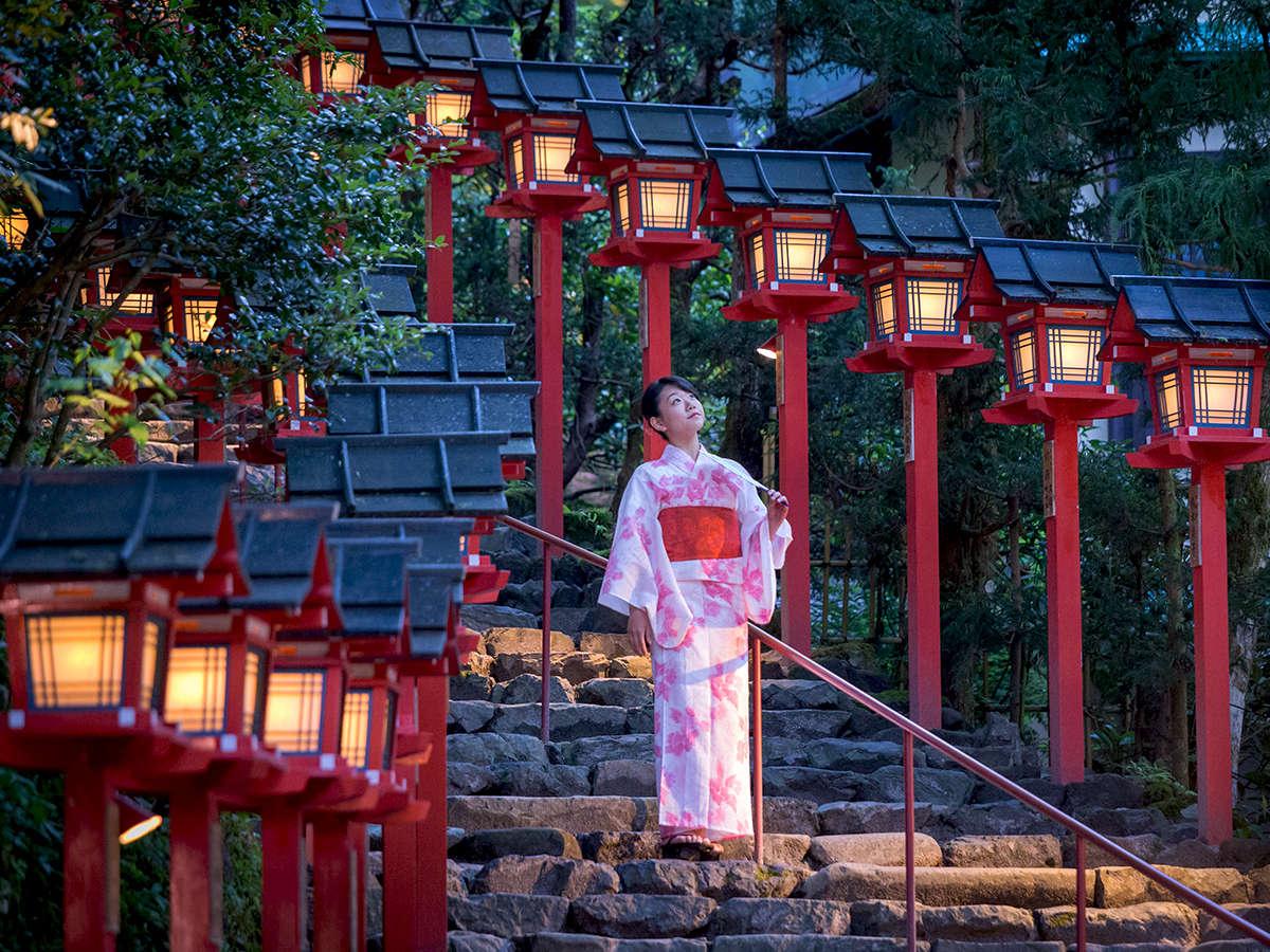 ◆夜の貴船神社◆暗くなってくると昼間とは違う魅力が感じられます。