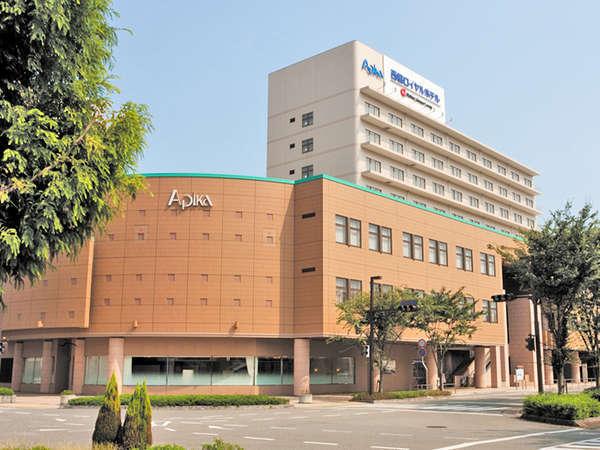 【外観】北播磨のレジャー・ビジネス・お集まりに便利なホテルです。