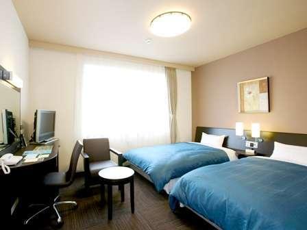 ●コンフォートツインルーム●上層階、上質なベッドで贅沢なプライベートタイムを★