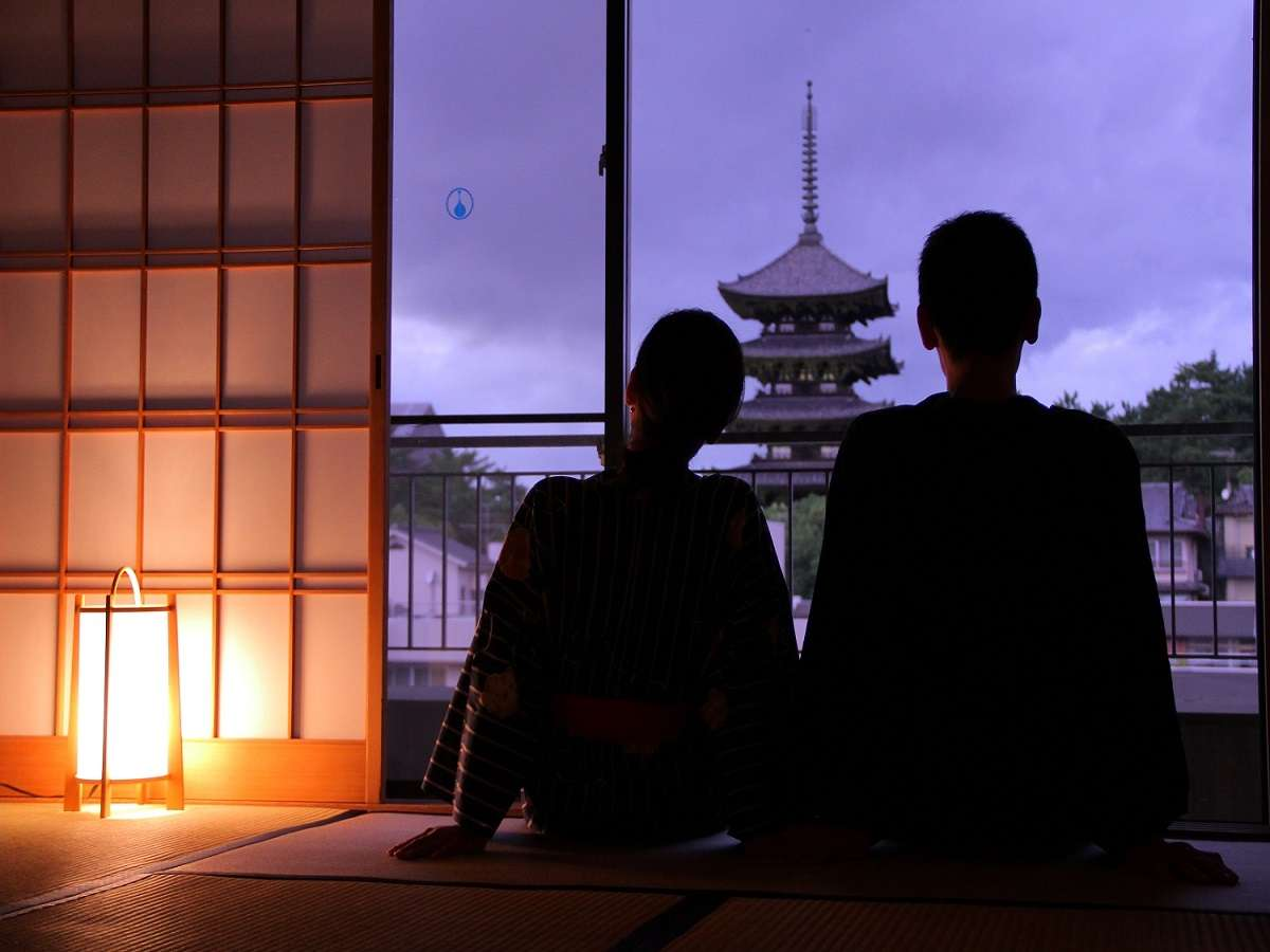 世界遺産側客室で奈良の歴史を感じます※こちらは指定はできません