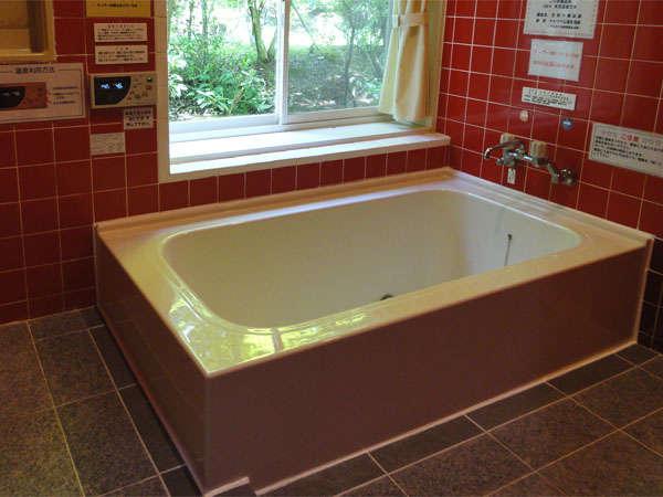 天然温泉100%のお風呂